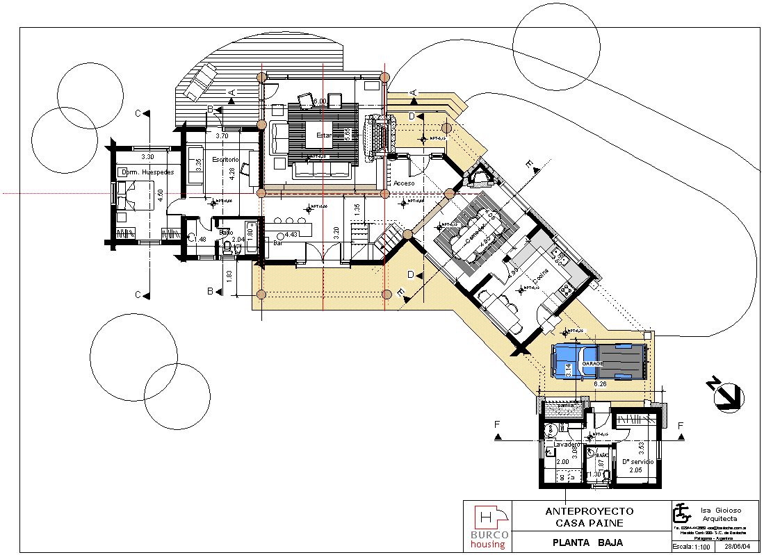 Casa paine Rental house plans